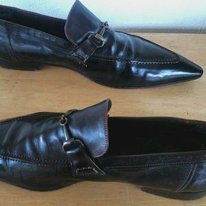 Mare Uomo Shoes - Mare Uomo Super Pointy Chocolate Brown Shoes Sz10